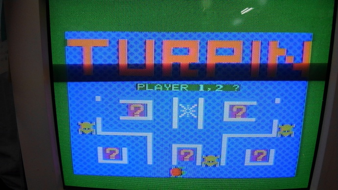 ターピン ゲーム画面
